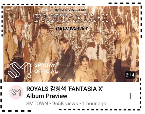 ROYALS [감청색] 'FANTASIA X' Album Preview