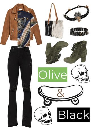 Olive & Black: Funky Punk