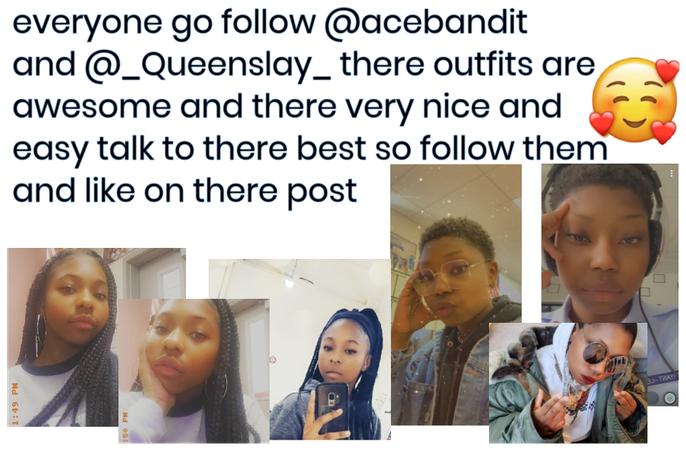 Follow @acebandit  @_queenslay_