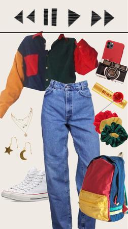80s look