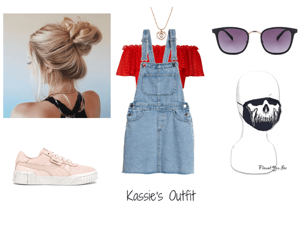 Kassie BTS 8TH MEMBER Outfit 2