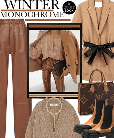 Winter Monochrome - Tan