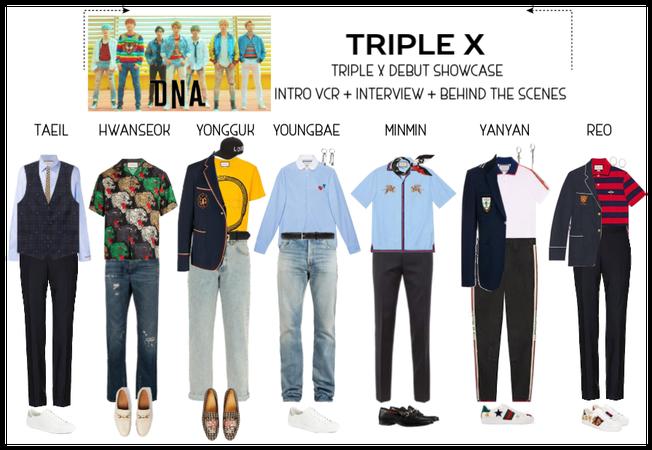 {TRIPLE X} TRIPLE X DEBUT SHOWCASE