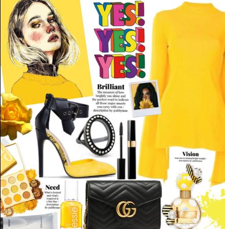 Black and Yellow| @we_girl