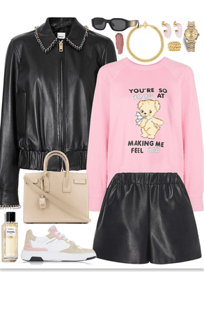 edgy and cute look