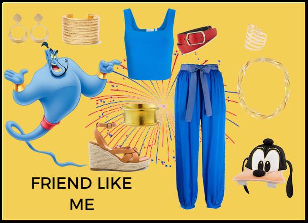Genie Aladdin Disney bound