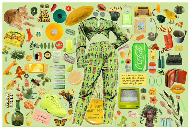 Green and Yellow Vibe