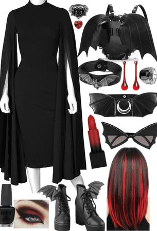 Vampire Bat (Black and Red #2)