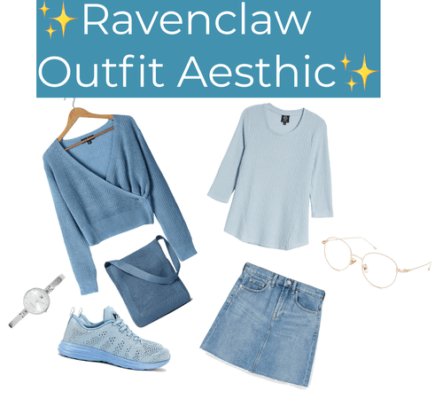 Ravenclaw Outfit Aesthetic