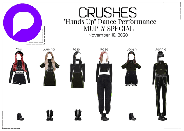 """Crushes (호감)  - """"Hands Up"""" Dance Performance"""