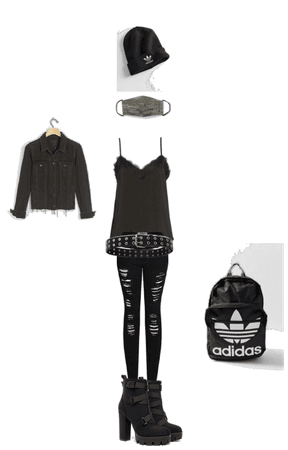 back to school gothic chic