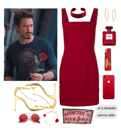when you go to dinner with Tony Stark
