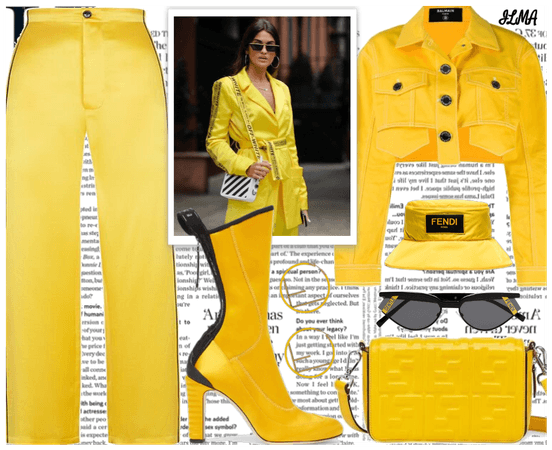Yellow Outfit for Thursday