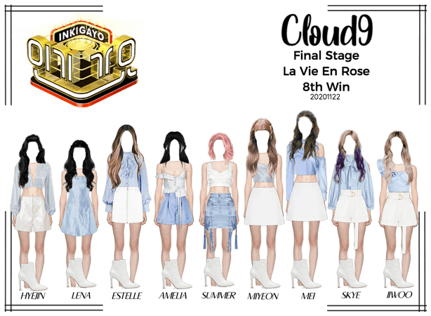Cloud9 (구름아홉)   Inkigayo   8th Win   20201122