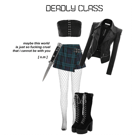 Deadly Class Outfit 6
