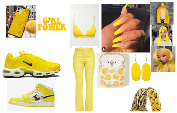 yellow period poo