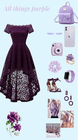 purple style😻