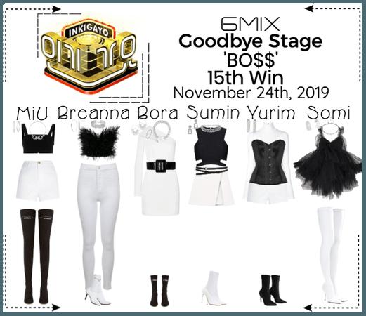 《6mix》Inkigayo Goodbye Stage 'BO$$'