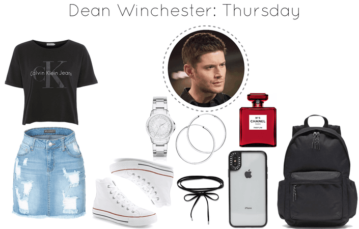 Dean Winchester Inspired School Outfit: Thursday