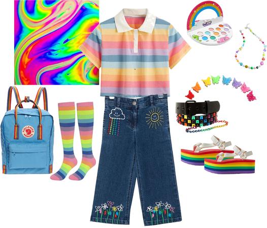 Rainbow para