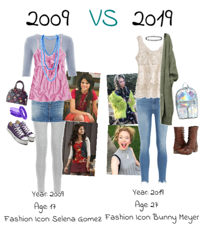 2009 style vs 2019 style!