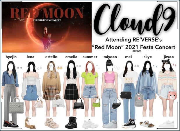 Cloud9 (구름아홉) | Attending Red Moon Festa Concert