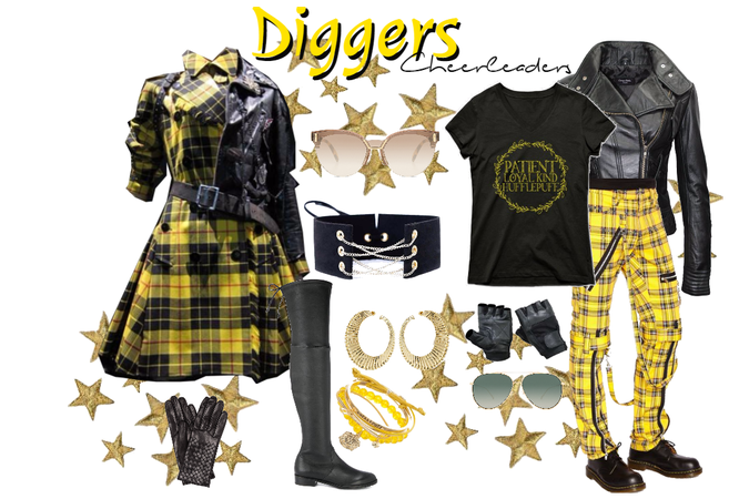 Diggers Cheerleaders - Uniform #2