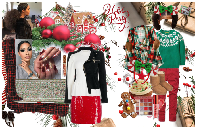 design challenge: CHRISTMAS PARTY