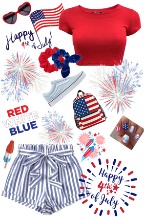 Red, White, And Blue Party At My Place!