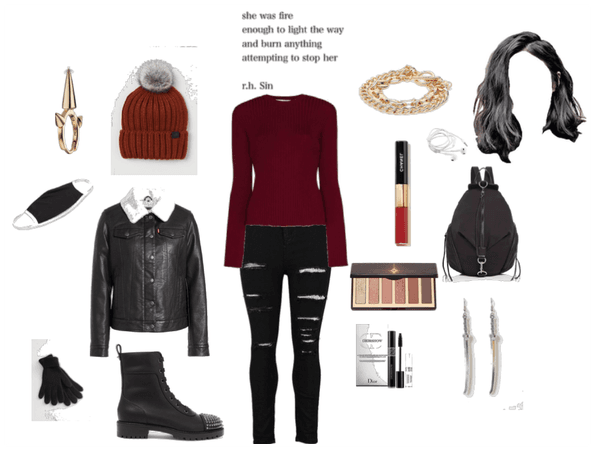 Daughter of Ares back to school/winter look