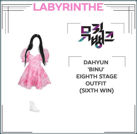 Dahyun binu eighth stage
