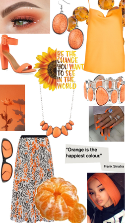 orange 🍊 happiness