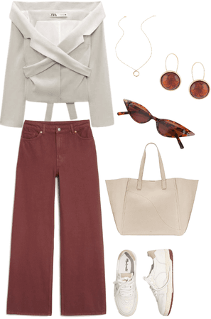 elegant college outfit
