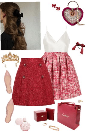 Valentines Day Outfit Planning