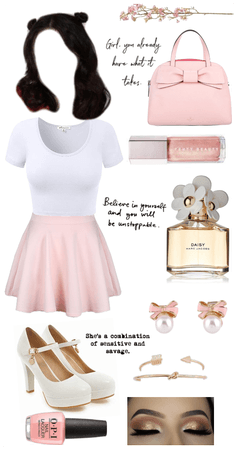 Back to School outfit - girly girl