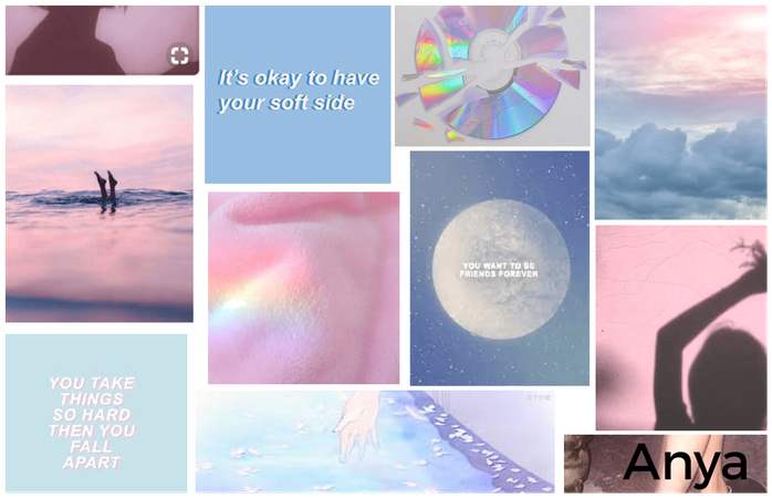 Name Aesthetic Board: Anya