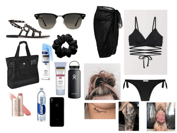 goth beach day