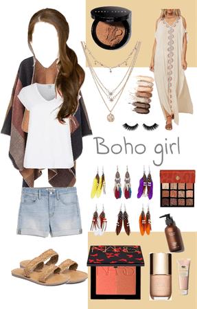 boho girl   chic