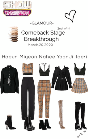 "GLAMOUR Show Champion Stage ""Breakthrough"""