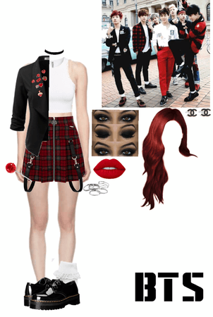 BTS War of hormone MV 8th member outfit