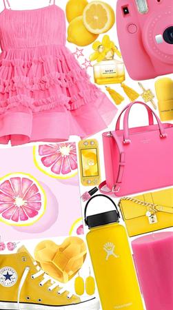 Pink Lemonade💗💛