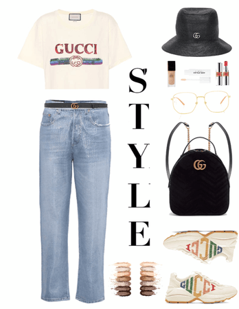 GUCCI ONE BRAND OUTFIT