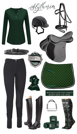 Slytherin, but make it Equestrian