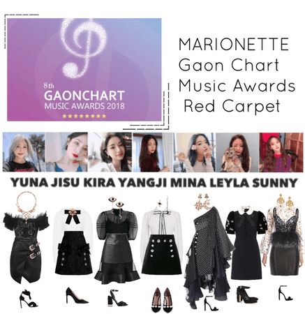 {MARIONETTE} Gaon Chart Music Awards 2019 Red Carpet