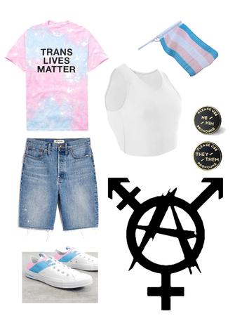 Trans Pride Anarchy