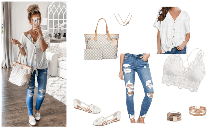 Adorable Casual Summer Outfit