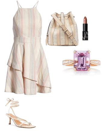 morganite summer dress