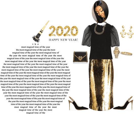 Modest New Year Outfit