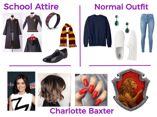 Charlotte Baxter Outfits