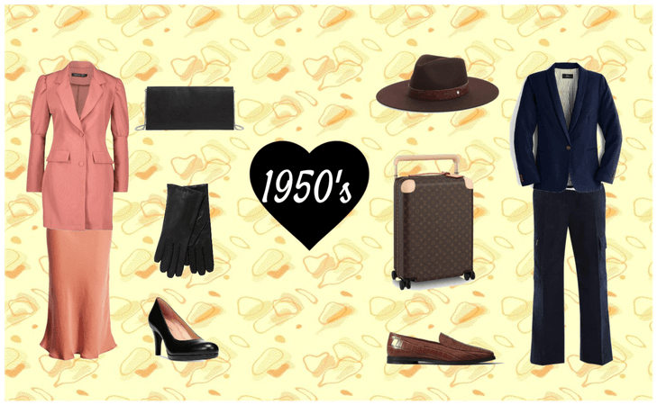 1950's Men and Women Outfits